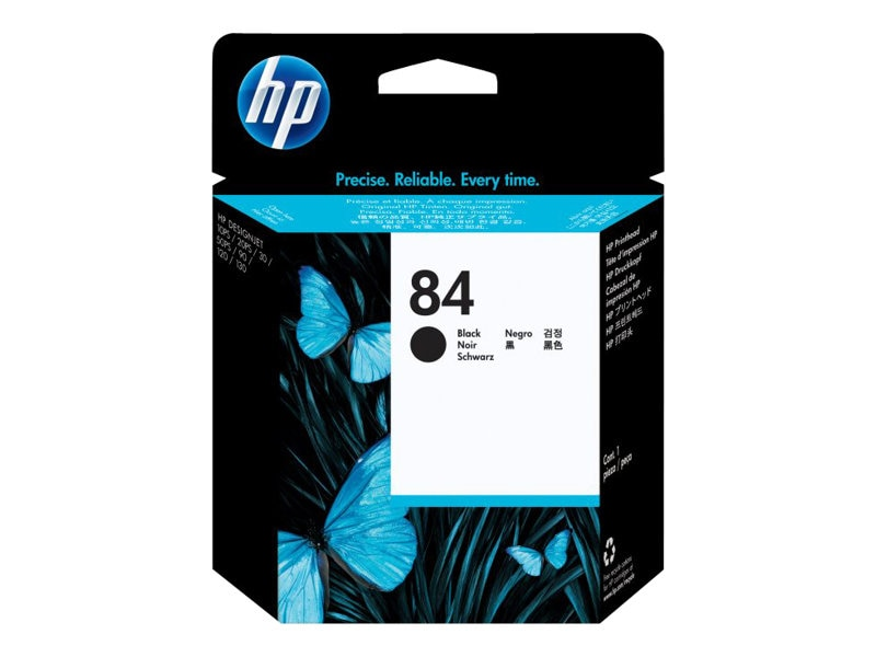 HP 84 Black Printhead for the DesignJet 10ps, 20ps, & 50ps, C5019A, 269789, Ink Cartridges & Ink Refill Kits