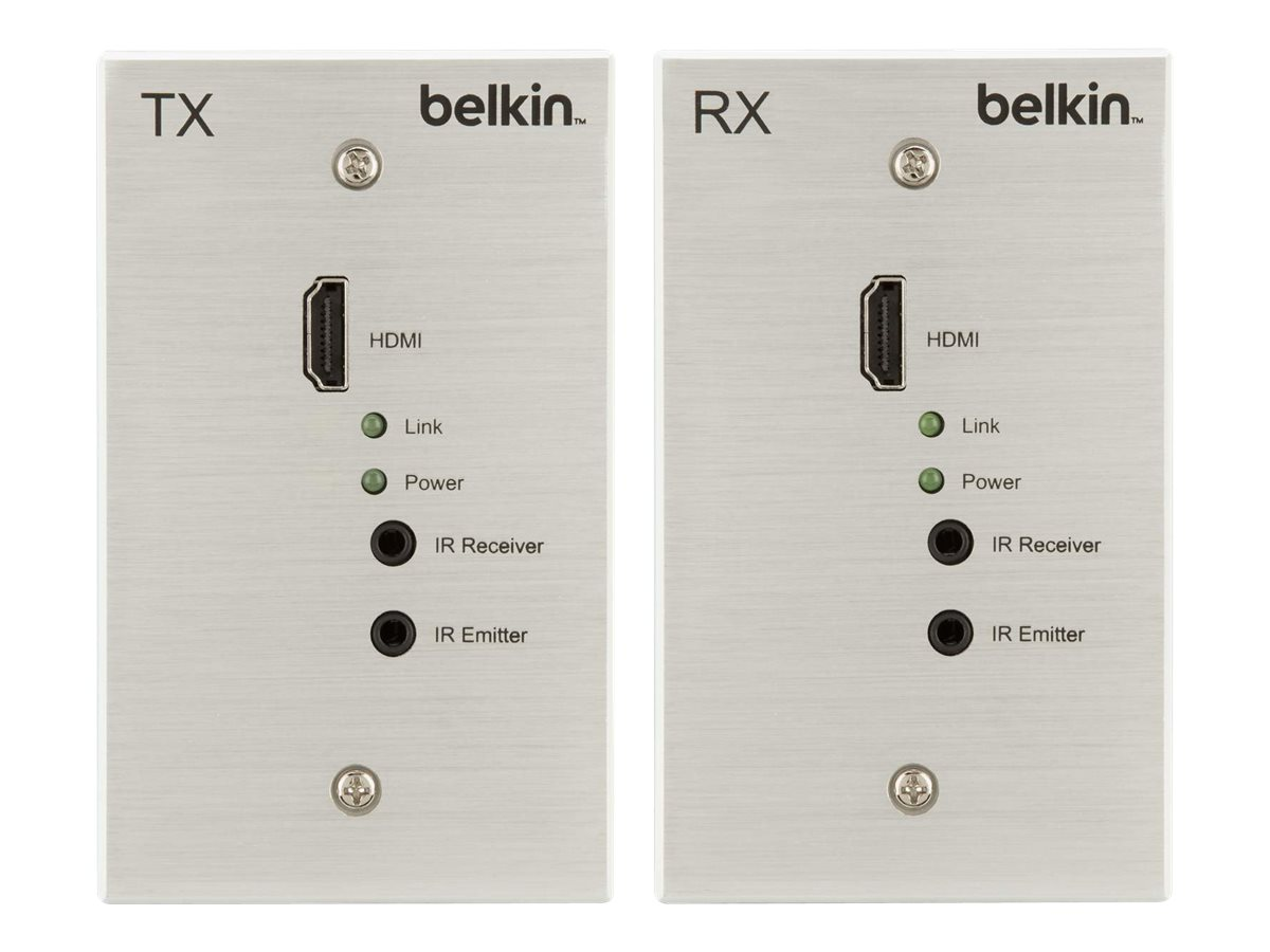 Belkin Cat5e Wallplate 100M, HDBT-WP-100M, 15176295, Premise Wiring Equipment