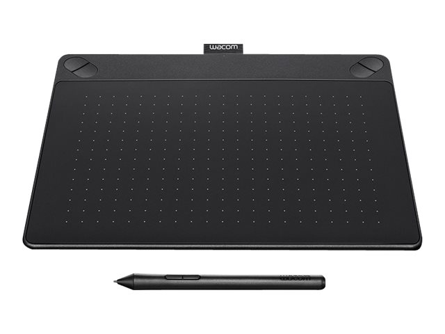 Wacom Intuos Art Pen and Touch Tablet, Medium, Black, CTH690AK