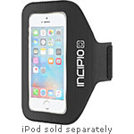 Incipio [Performance] Excercise Armband for iPod touch 5G 6G, Black