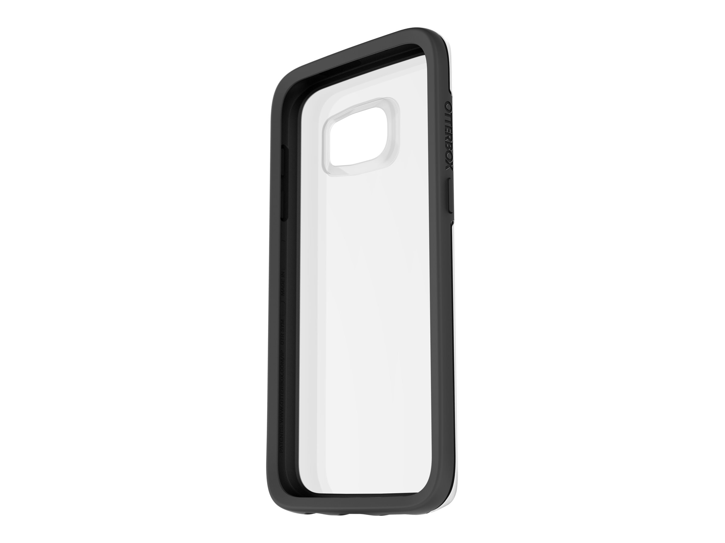 OtterBox Clear Symmetry Pro Pack for Samsung Galaxy S7, Black Crystal