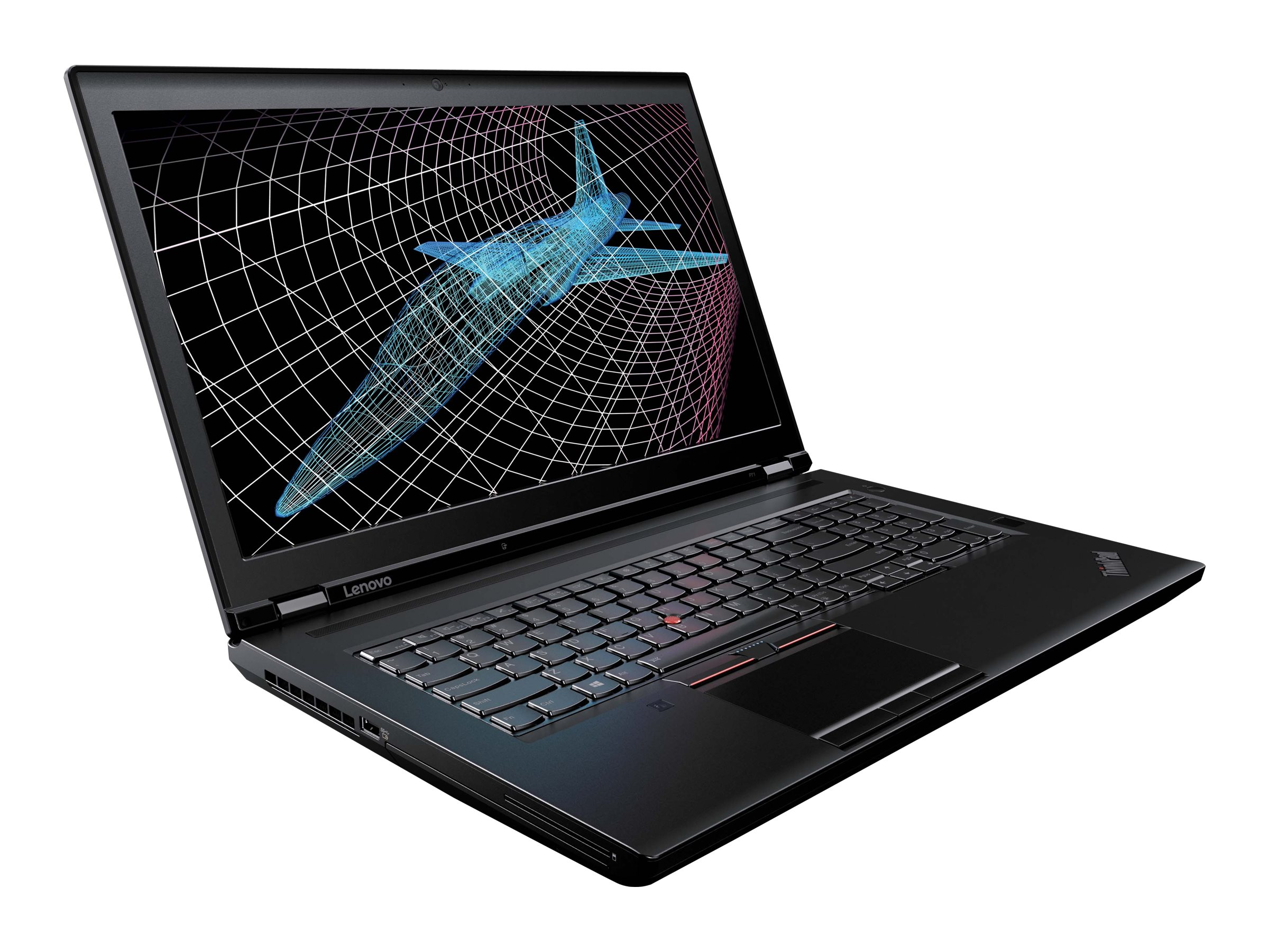 Lenovo TopSeller ThinkPad P71 Core i7-7820HQ 2.9GHz 8GB 500GB ac BT FR M620M 17.3 FHD W10P64, 20HK0017US