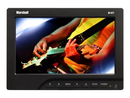 Marshall Electronics 7 M-CT7-AAK Camera Top Monitor with AA Plate Batteries Charger, M-CT7-AAK, 17649471, Monitors