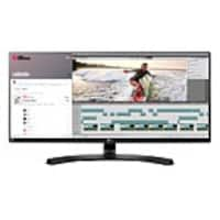 LG 34 UM88C-P 4K Ultra HD LED-LCD Ultrawide Monitor, Black, 34UM88-P, 33617875, Monitors - Large Format