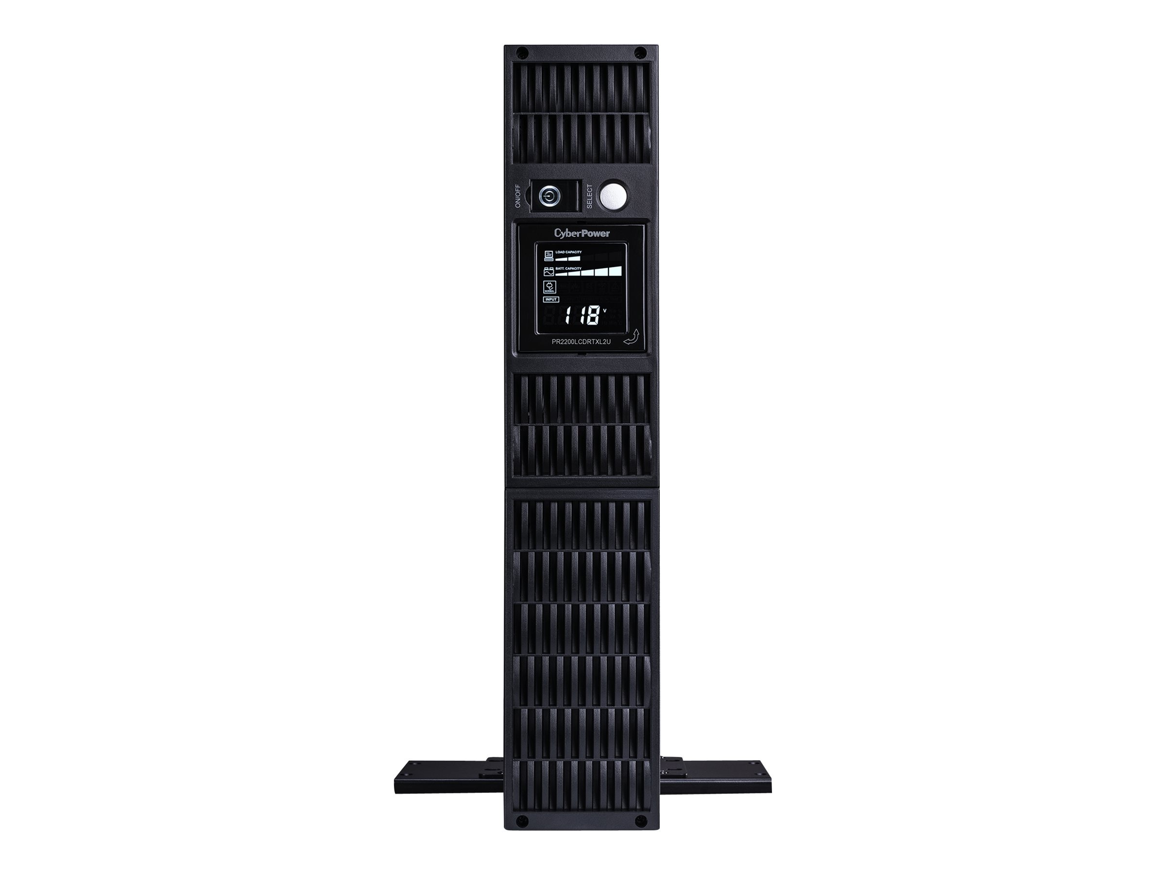 CyberPower Smart App Sinewave LCD UPS 2U RM Tower 120V AVR, (8) Outlets TAA Compliant