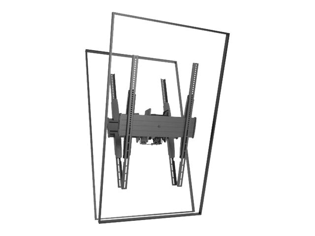 Chief Manufacturing FUSION Large Flat Panel Ceiling Mount for 32-60 Displays, Black