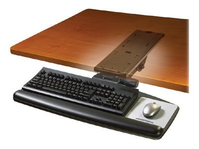 3M Adjustable Keyboard Tray, AKT91LE, 8463317, Ergonomic Products