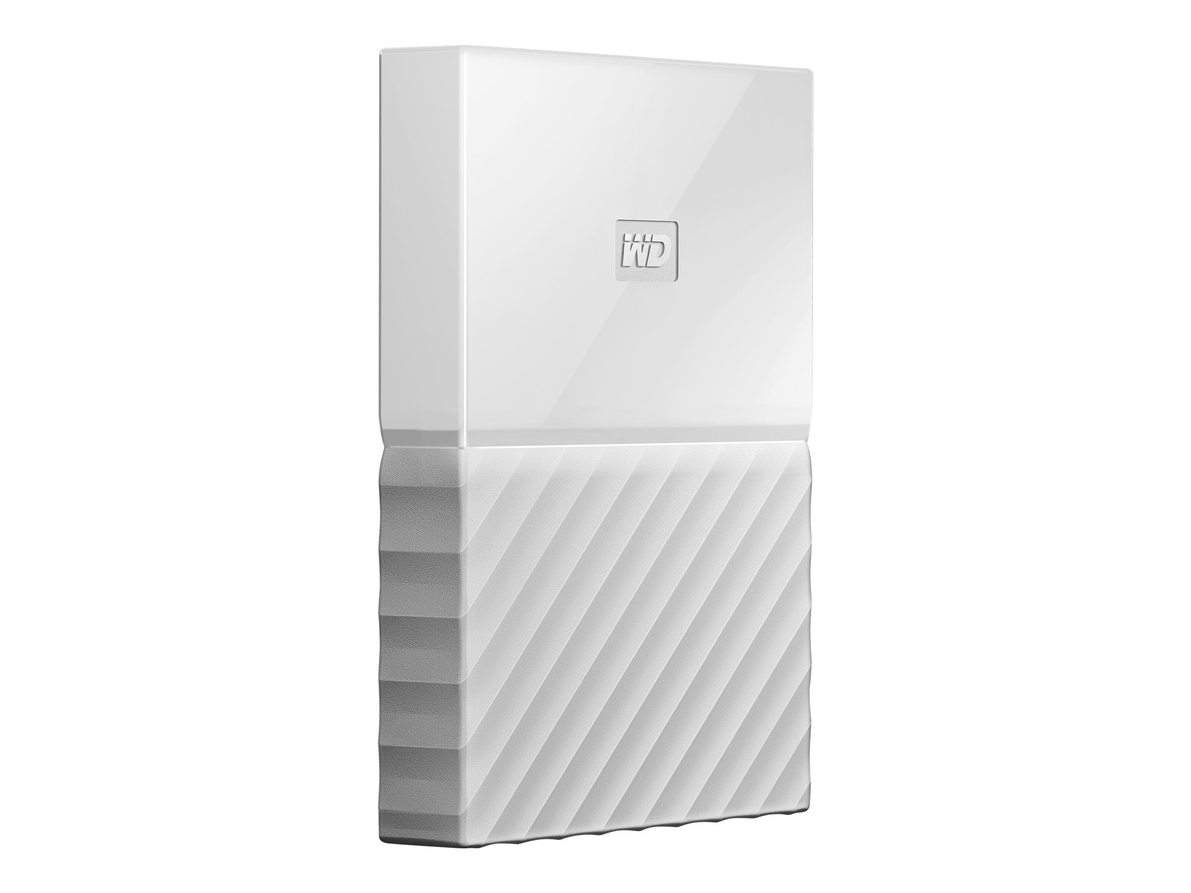WD 2TB My Passport USB 3.0 Portable Hard Drive - White, WDBYFT0020BWT-WESN