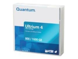 Quantum LTO Ultrium 4 Media Cartridge, MR-L4MQN-01, 7735595, Tape Drive Cartridges & Accessories