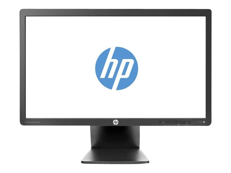 HP 20 E201 LED-LCD Monitor, Black, C9V73AA#ABA, 15593751, Monitors - LED-LCD