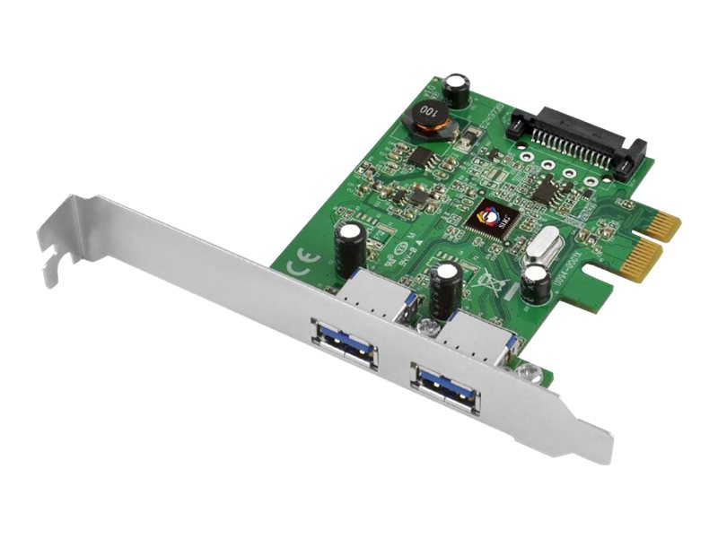 Siig USB 3.1 2-Port PCIe Host Adapter, JU-P20B12-S1