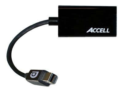 Accell UltraAV Mini DisplayPort 1.1 to HDMI 1.4 Passive Adapter, B086B-005B-2
