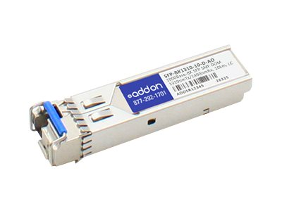 ACP-EP SFP 1-GIG BIDI DOM LC 10KM TAA Transceiver (Zyxel SFP-BX1310-10-D Compatible)