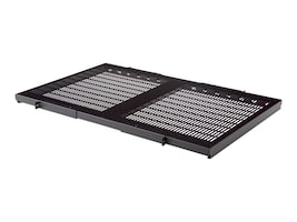 Belkin 28 Deep Fixed Vented Shelf, 19 Wide, 300 lb. Capacity, RK5021, 5689871, Rack Mount Accessories