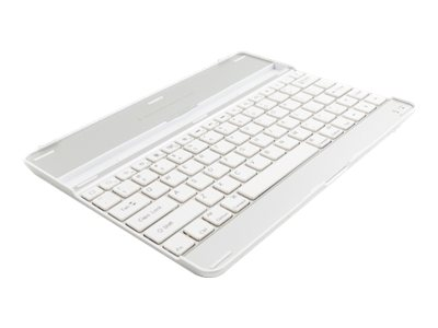 Axiom Aluminum Keyboard Cover for iPad2 3, White, APLIP3KCW-AX
