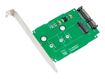 Syba M.2 NGFF to 2.5 SATA III Card with Full and Low Profile Brackets (B or B+ M key)