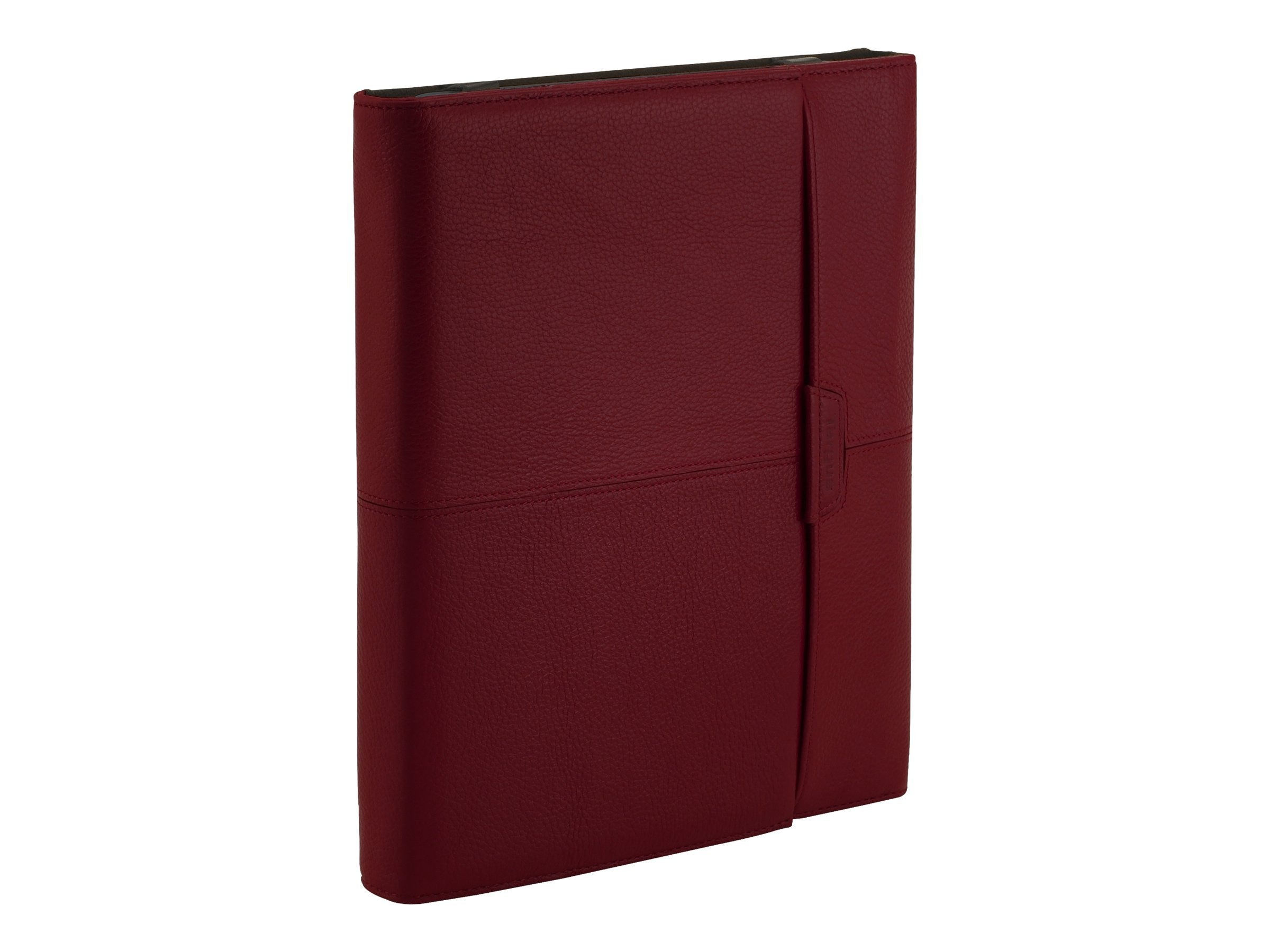 Targus Zierra Leather Portfolio for Kindle 3, Red, THZ03202US, 12599698, Protective & Dust Covers