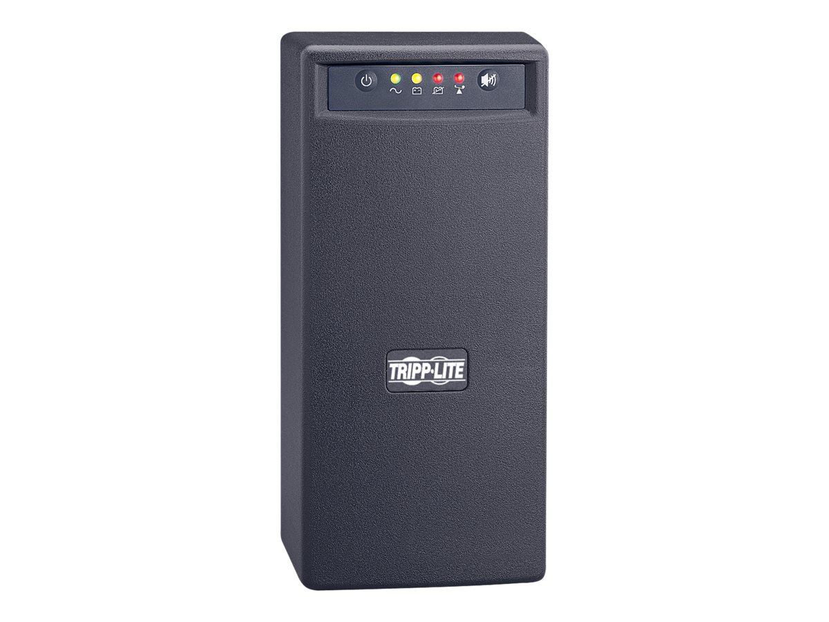 Tripp Lite 750VA UPS Smart Pro Tower Line-Interactive (6) Outlet with USB Port, SMART750USB, 4755646, Battery Backup/UPS