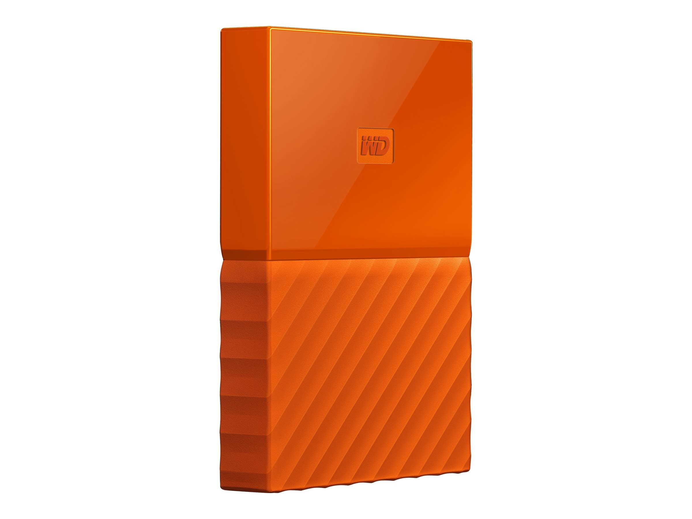 WD 4TB My Passport Portable, Orange, WDBYFT0040BOR-WESN