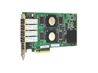 Qlogic 4Gb Quad Port FC PCIe 8 LC Multi-mode Optic HBA, QLE2464-CK, 10239488, Host Bus Adapters (HBAs)