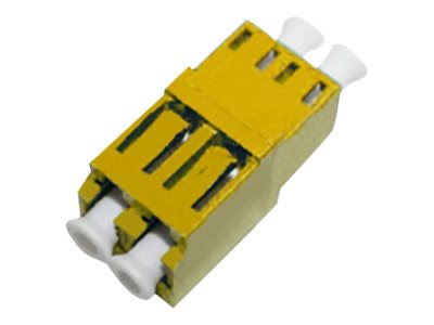 ACP-EP LC LC F F Multimode Duplex Fiber Optic Adapter, ADD-ADPT-LCFLCF-MD