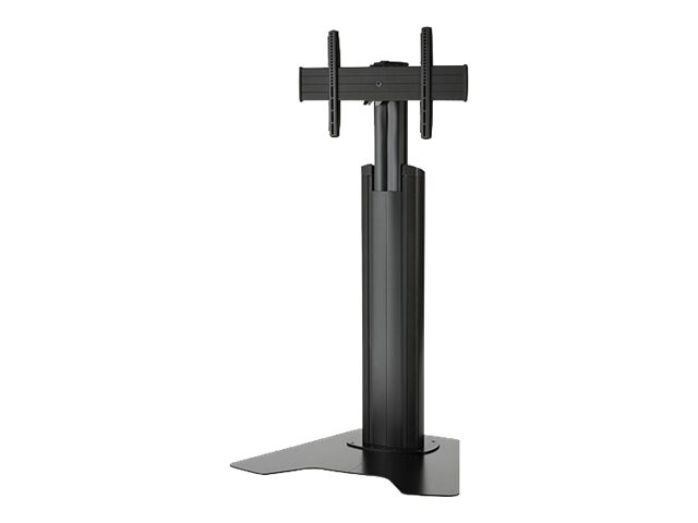Chief Manufacturing Medium FUSION Manual Height Adjustable Floor Stand, MFAUB, 16462630, Stands & Mounts - AV