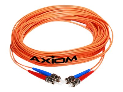 Axiom Fiber Patch Cable, SC-ST, 62.5 125, Mutlimode, Duplex, 5m, SCSTMD6O-5M-AX