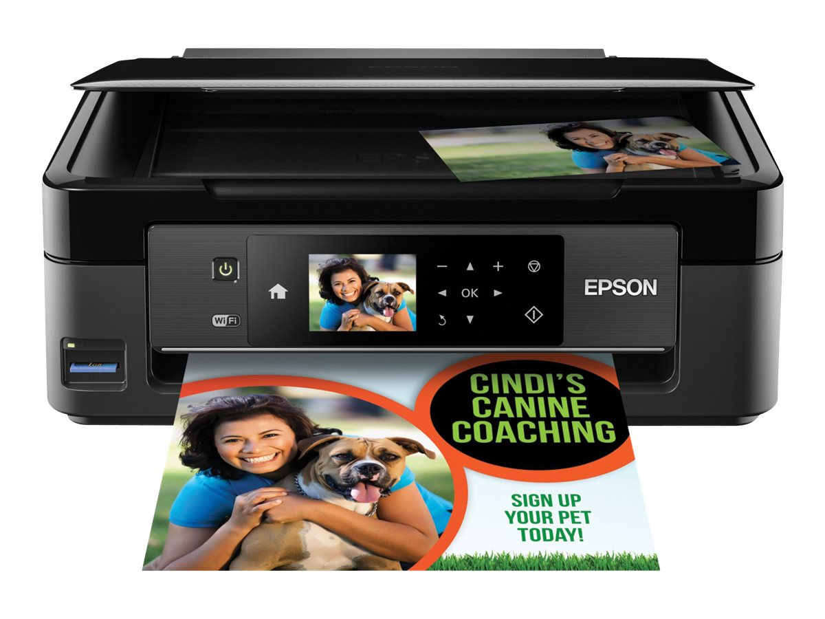 Epson Expression Home XP-430 Small-in-One Printer, C11CE59201, 31837567, MultiFunction - Ink-Jet