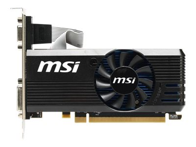 Microstar Radeon R7 240 PCIe Graphics Card, 2GB GDDR3, R72402GD3LP, 16360140, Graphics/Video Accelerators