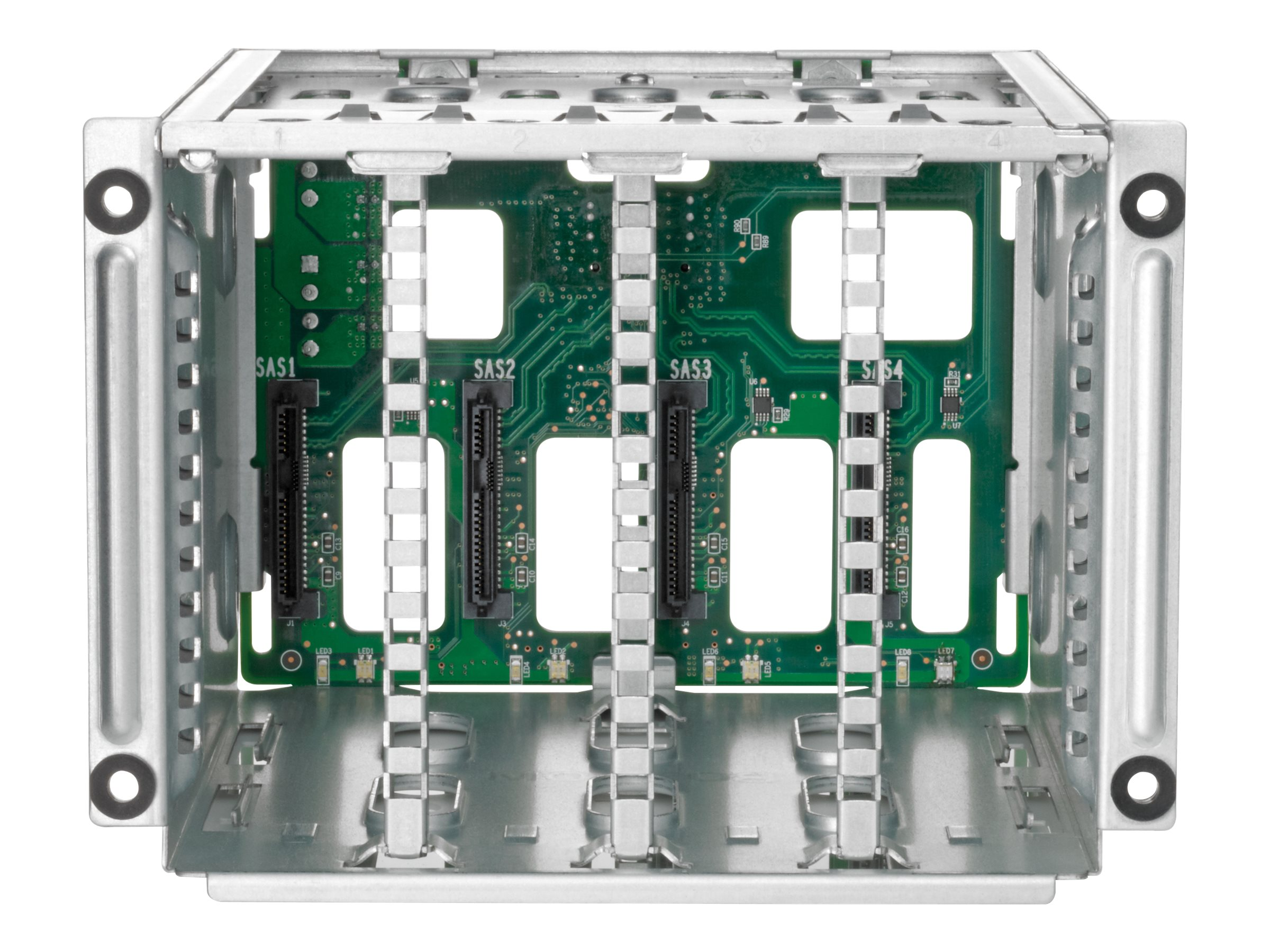 HPE ML30 Gen9 8 Small Form Factor Hot Plug Hard Drive Cage Kit, 822756-B21