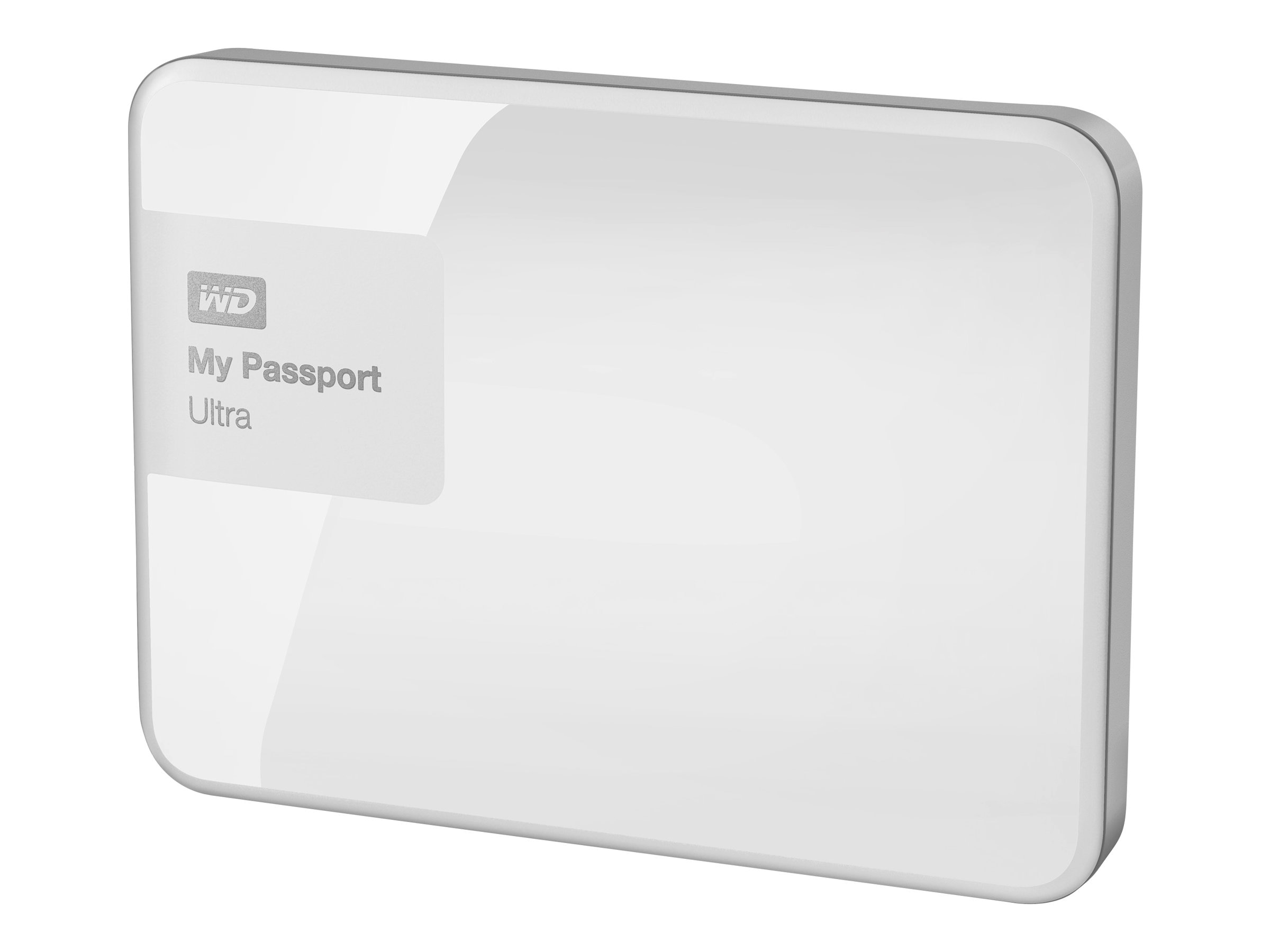 WD 1TB My Passport Ultra Portable Hard Drive - White, WDBGPU0010BWT-NESN, 21089155, Hard Drives - External