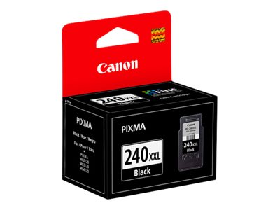 Canon Black PG-240XXL Double Extra Large Ink Cartridge, 5204B001