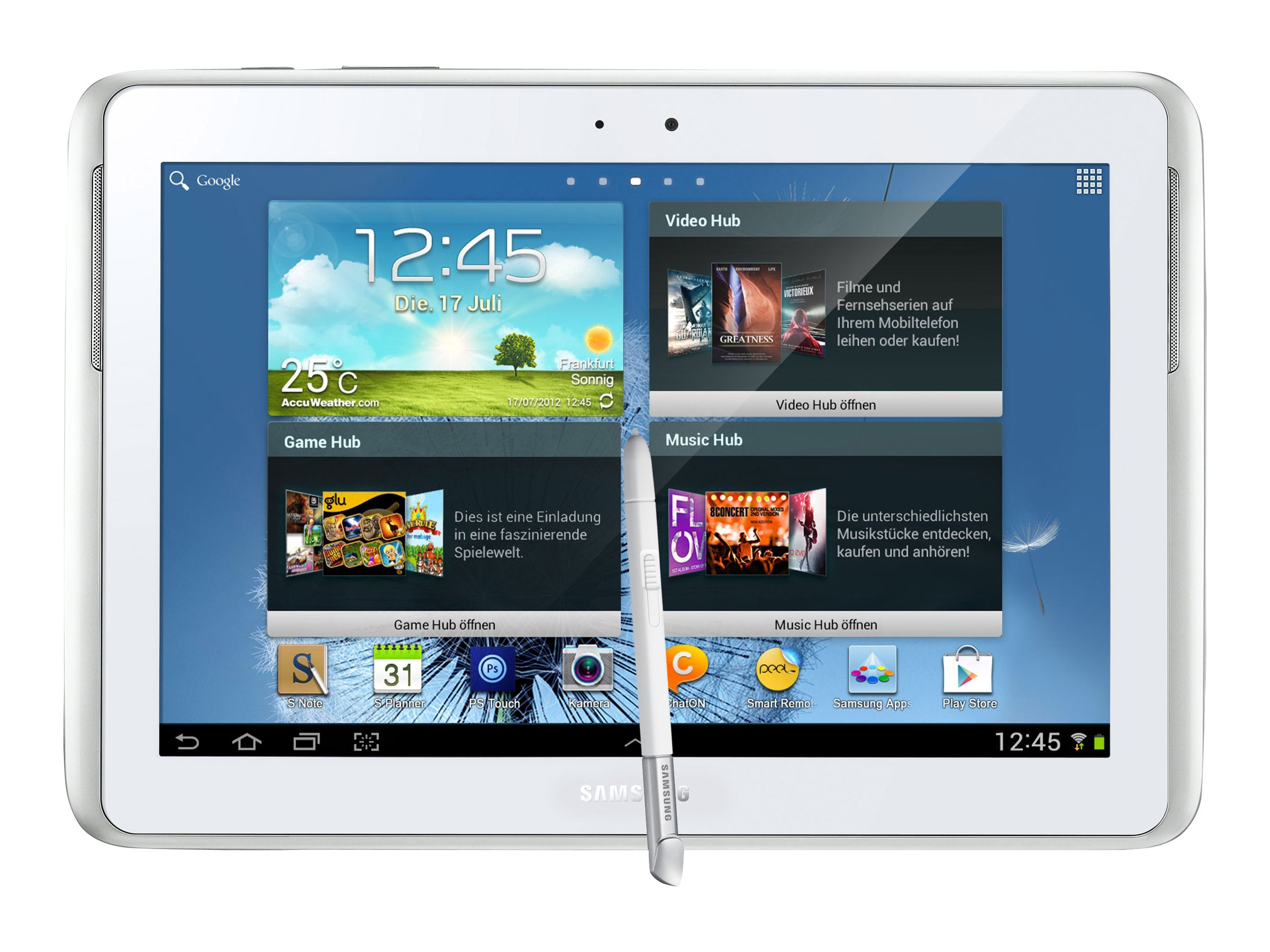 Samsung Galaxy Note 10.1 2014 Edition QC 1.9GHz 3GB 16GB abgn ac BT 2xWC 10.1 WQXGA Touch Android 4.3 White