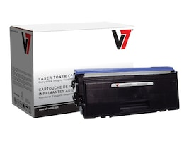 V7 Black TN580 High Yield Toner Cartridge for Brother, V7TN580, 11702260, Toner and Imaging Components