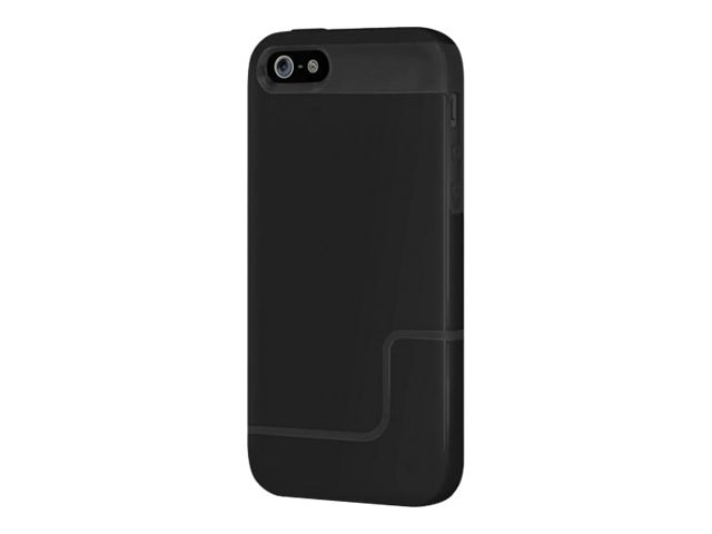 Incipio Edge Pro Case for iPhone 5, Obsidian Black Obsidian Black