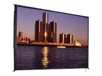 Da-Lite Fast-Fold Deluxe Projection Screen, Ultra Wide Angle, 1:1, 54 x 54