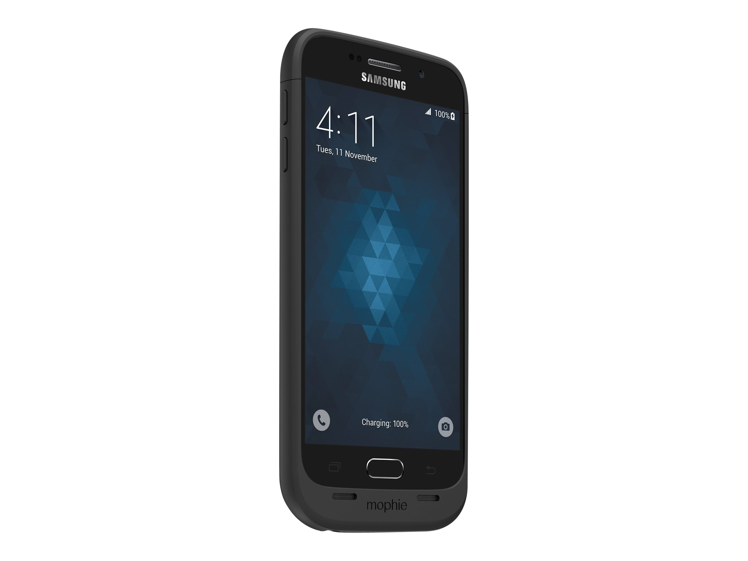 Mophie Juice Pack 3300mAh Battery Case for Samsung Galaxy S6, Black, 3204_JP-SGS6-BLK