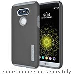 Incipio DualPro Hard Shell Case w  Impact-Absorbing Core for LG G5, Black Charcoal