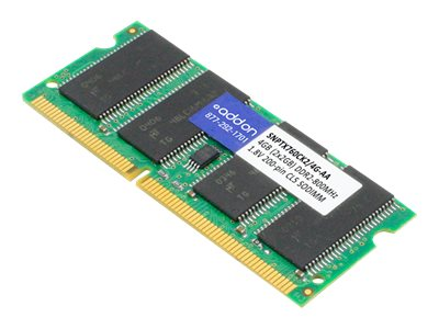 ACP-EP 4GB PC2-6400 204-pin DDR2 SDRAM SODIMM Kit, SNPTX760CK2/4G-AA