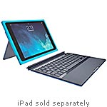 Logitech BLOK Protective Keyboard Case for iPad Air 2, Teal Blue