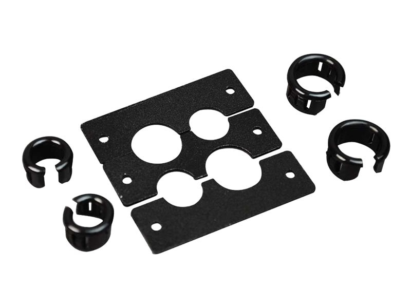 C2G Wiremold Audio Video Interface Plate (AVIP) Cable Kit, (4) Openings (2 Small 2 Large)