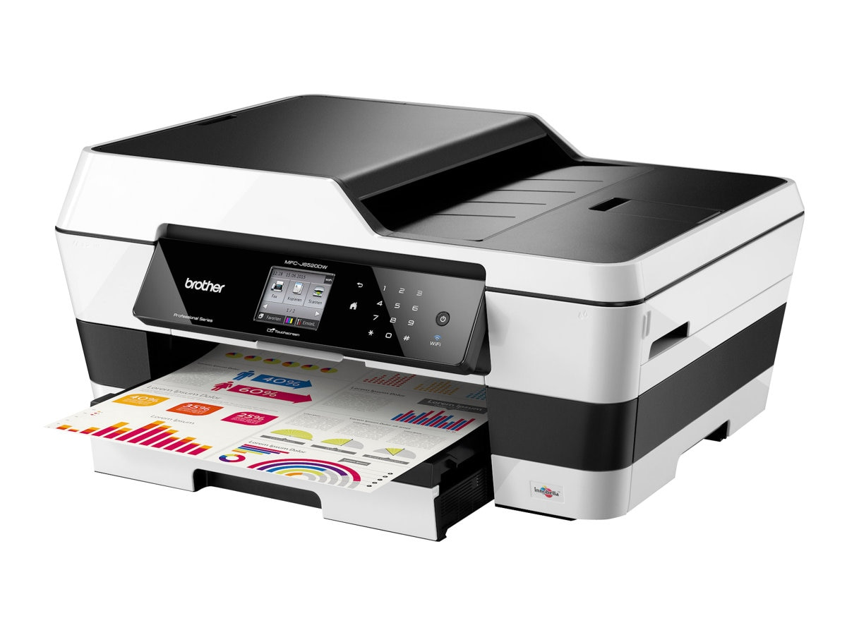 Brother MFC-J6520DW Professional Inkjet All-In-One, MFC-J6520DW, 16245002, MultiFunction - Ink-Jet
