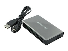 IOGEAR 56-in-1 Memory Card Reader Writer, Instant Rebate - Save $1, GFR281, 8685841, PC Card/Flash Memory Readers