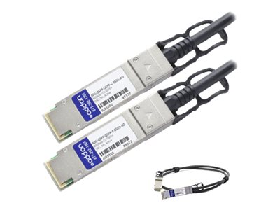 ACP-EP 40GBase-CU QSFP+ Active DAC Cable, 5m for Brocade 100
