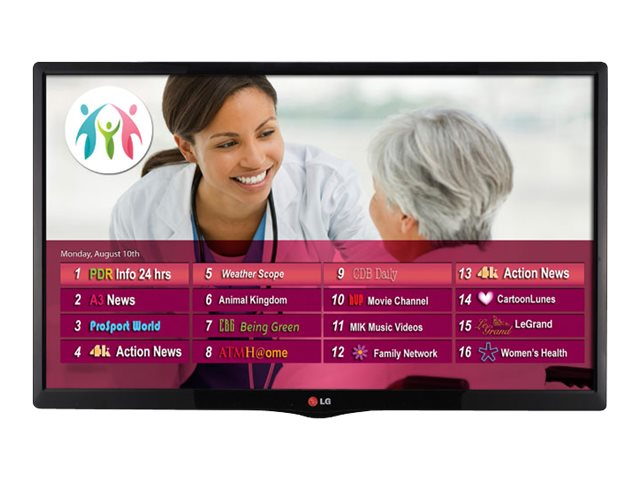 LG 21.5 LY560M LED-LCD Hospitality TV, Black, 22LY560M, 17488743, Televisions - LED-LCD Commercial