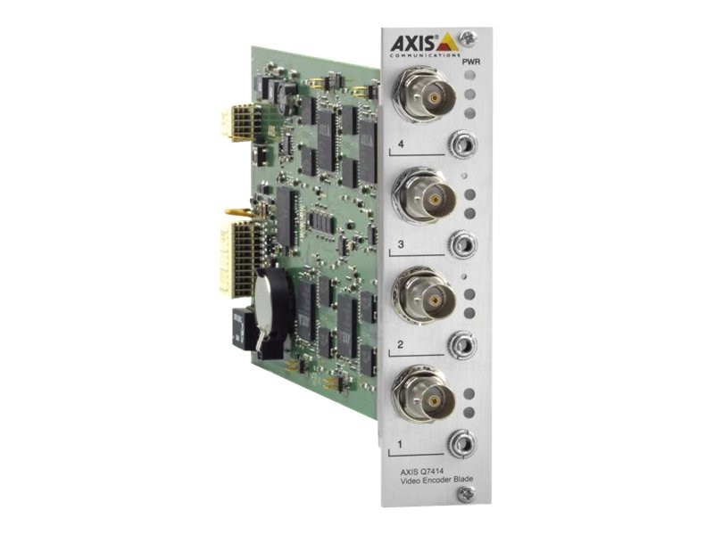 Axis Q7414 4-Channel Video Encoder Blade, 10-Pack