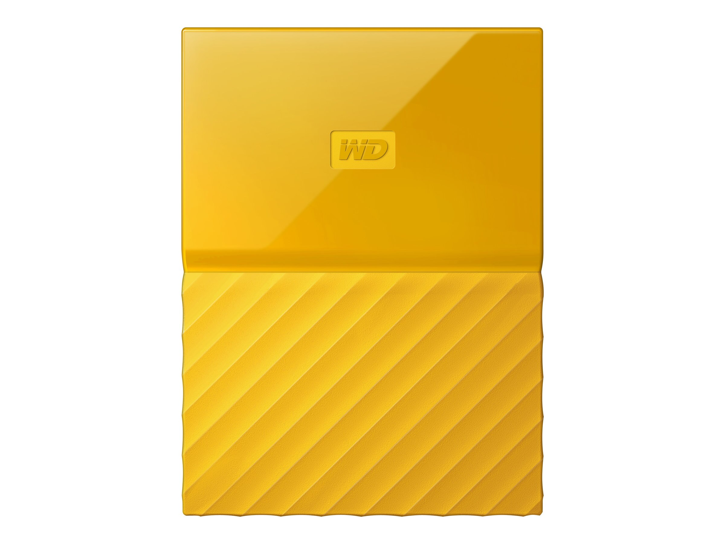 WD 3TB My Passport USB 3.0 Portable Hard Drive - Yellow, WDBYFT0030BYL-WESN
