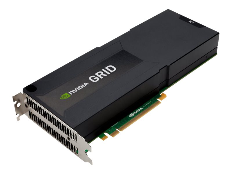 HP NVIDIA Grid K1 Quad GPU PCIe 3.0 x16 Graphics Card, 16GB GDDR5, J0G94A, 17784358, Graphics/Video Accelerators