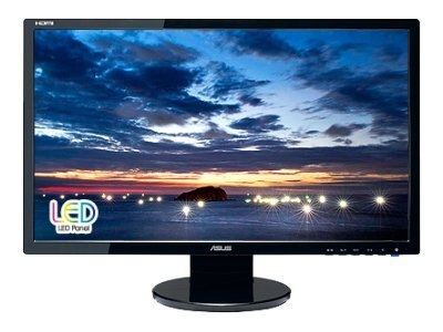 Asus 23.6 VE247H LED-LCD Full HD Monitor, Black, VE247H, 12293314, Monitors - LED-LCD