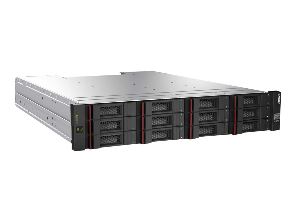 Lenovo Storage D1212 Disk Expansion Dual ESM 3.5 Array, 4587A11